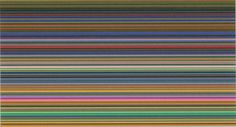Gerhard Richter - Strip (III), 2013, 60 cm x 110 cm, Editions CR: 162, Digital print between two panes of glass