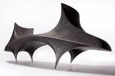 Vivian Beer has designed a collection of sculptural benches named the Infrastructure Series #banc