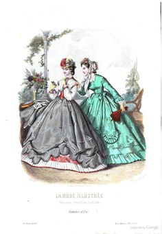 La Mode illustrée: June 5 1864