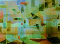 Abstraktio /akvarelli