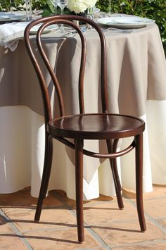 Check out the deal on Walnut Bentwood Chair at Town & Country Event Rentals