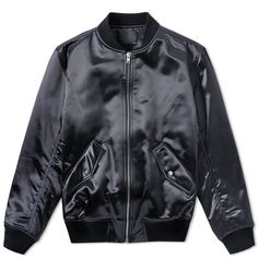 Alexander Wang Quilted MA-1 Bomber Jacket (Essence)
