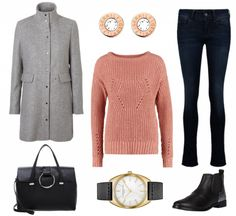 #Herbstoutfit Klassik Chic ♥ #outfit #Damenoutfit #outfitdestages #dresslove