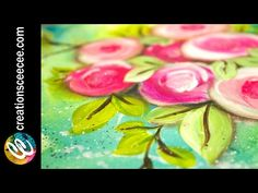 Iris Scott Fingerpainting -- Jumping Girl -- (Music by Takenobu) Painting Lessons, Painting For Kids, Art Lessons, Art For Kids, Painting Flowers Tutorial, Painting Tutorials, Finger Art, Abstract Canvas Art, Wall Canvas