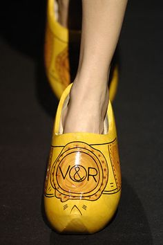 Before Chanel Clogs...There Was Viktor and Rolf - Every Clog Has Its Day