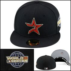51b3af9e668 Era 59Fifty Houston Astros Fitted Hat Cap 2005 World Series Side Patch Mlb 2005  World Series