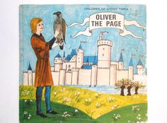 Oliver the Page a Vintage Children's Book by lizandjaybooksnmore