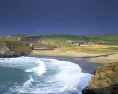 Gunwalloe Church Cove on Lizard peninsular, Cornwall. (National Trust Images/David Sellman) It's an attractive sandy cove overlooked by the tiny church of St Wynwallow.