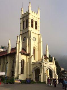 Christ Church , The Ridge , Shimla.