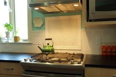 Craftsman style kitchen with custom cabinetry led for Angela bonfante kitchen designs