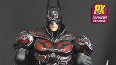 First Look: DC Comics Variant Play Arts Kai PX Red Costume Batman Red Batman, Superman, Red Costume, Costumes, Dc Characters, Dc Heroes, Aquaman, Dark Knight, Kai