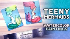 Struggling with Art Challenges  Tiny Mermaid Watercolor Paintings https://youtu.be/pkcehH-y1G0  These tiny mermaid watercolour paintings gave me a lot of issues  in this video I discuss struggling with art challenges. And yes I missed out on both #ACEOApril and Mermay but that doesnt mean I cant combine the both of them and create some super belated super teeny mermaid paintings!  #ACEOAPRIL Claires channel: https://www.youtube.com/user/CFHWolfe Official website: https://ift.tt/2J1fzqp…