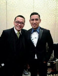 With Mr. Rio Febrian Vocalist & Celebrity