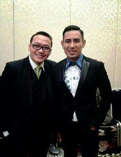 With Mr. Rio Febrian Vocalist & Celebrity