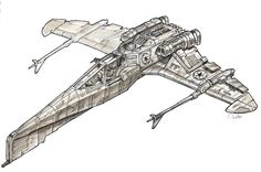 Star Wars Hybrid 1 -render- by MeckanicalMind on deviantART