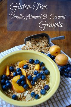 Gluten-Free Vanilla, Almond & Coconut Granola - Simple Sojourns