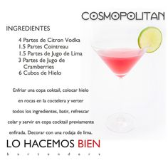 Cosmopolitan Cocktail - Party with style! Fruit Drinks, Bar Drinks, Wine Drinks, Yummy Drinks, Healthy Drinks, Alcoholic Drinks, Cocktail Shots, Cocktail Recipes, Cosmopolitan Cocktails