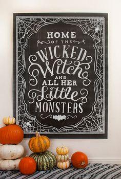 Wicked Chalk Set