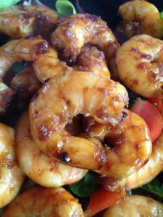 Crevettes marinées Cohen Diet Recipes, Ww Recipes, Light Recipes, Seafood Recipes, Cooking Recipes, Healthy Recipes, French Recipes, Recipies, Tunisian Food