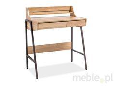 Ones Íróasztal - Vivre. Adjustable Height Desk, Adjustable Shelving, Office Furniture, Home Furniture, Writing Desk With Drawers, Desk Height, Desk And Chair Set, Small Home Offices, Large Desk