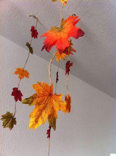 Fall Garland - Thanksgiving Decoration - Fall Decor - Halloween Decor on Etsy, $6.00