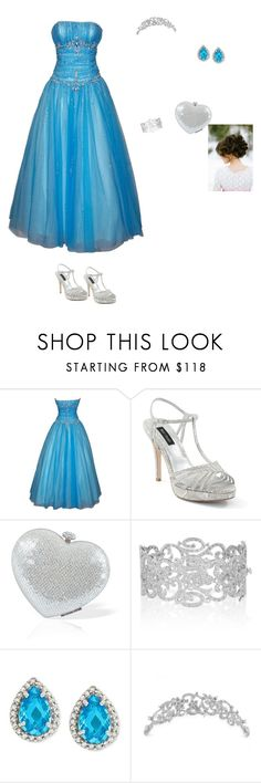 """""""Amanda Russell Princess  Royally blue"""" by cynthiatorres-ii ❤ liked on Polyvore featuring PacificPlex, White House Black Market, Kenneth Jay Lane, B. Brilliant and Crislu"""