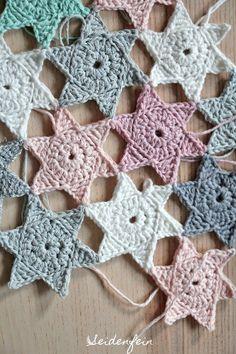 66 Ideas Crochet Afghan Patterns Star For 2019 Crochet Pattern Free, Crochet Tutorial, Crochet Gratis, Afghan Crochet Patterns, Crochet Stitches, Knitting Patterns, Beginner Knitting Projects, Knitting For Beginners, Crochet Baby Hats