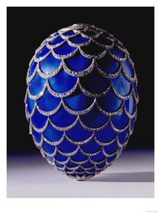 A Highly Important Faberge Easter Egg, Workmaster Michael Perchin, St. Petersburg, 1900 Giclee Print by Mikhail Perkhin in 2020 Fabrege Eggs, Digimon, Egg Crafts, Easter Crafts, Egg Designs, Imperial Russia, Egg Art, Arte Floral, Glass Art