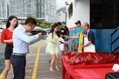 #SimpsonMarine #HongKong #MonteCarlo5 handover party at Aberdeen Boat Club on 30 Jun #yacht #sailing