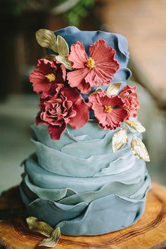 Bold, Bright & Colorful: Vintage Boho Wedding Ideas|Photographer: Brandy Angel Photography