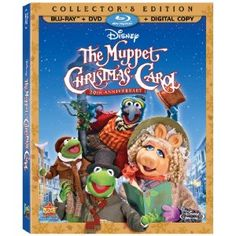 The Muppet Christmas Carol 20th Anniversary Edition Amazon Exclusive (Three-Disc BD/DVD Edition) [Blu-ray]