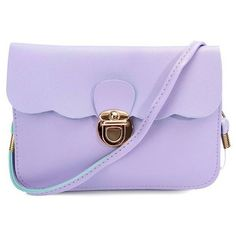 Sweet Women Leather Candy Color Satchel Crossbody Bag ($4.82) ❤ liked on Polyvore featuring bags, handbags, shoulder bags, crossbody handbags, leather crossbody, leather cross body purse, leather shoulder bag and leather handbags