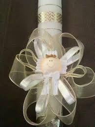 1000 images about velas on pinterest candle set - Velas decoradas para bautizo ...