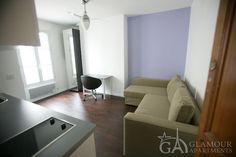 Nice cozy furnished studio for long lease at long lease   7th Paris arrondissement