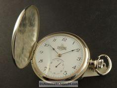"""Doppelmantel Taschenuhr """"Dostal"""" - Mechanische Taschenuhren - Watches, Pocket Watch, Accessories, Wristwatches, Clocks, Pocket Watches, Jewelry Accessories"""