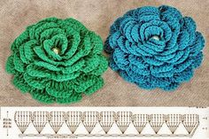 Rose Crochet Pattern Crochet Pretty 3d Lace Rose Free Pattern