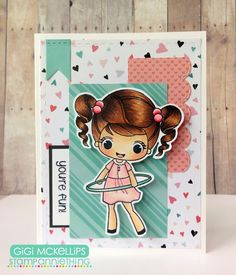 The Cricut Bug: Stamp Annie Thing July Release Day 3- Abigail-You're Fun