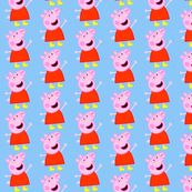 peppa pig fabric @spoonflower