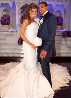"""R & B singer Monica and NBA star Shannon Brown married on July 9, 2011. Mo and Shannon met in June 2010 on Monica's video shoot for her single """"Love All Over Me."""" Monica 32, has two sons, Romelo, 5, and Lil Rocko, 7, from a previous relationship with music producer and rapper Rodney """"Rocko"""" Hill. Shannon, 27, also has a son, Shannon Christopher Brown, from a previous relationship."""