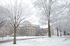 Chambers Building at Davidson College