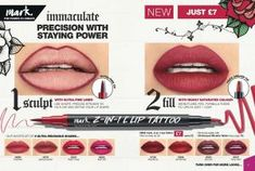 2-In-1 Lip Tattoo Stain - MakeUpBoxReps