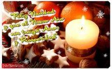 Feliz Navidad con Velas
