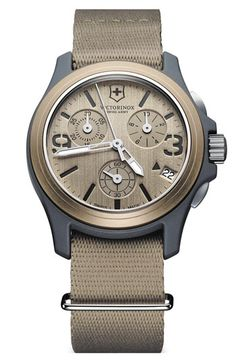 Victorinox Swiss Army® 'Original' Chronograph Watch available at Nordstrom $450.00