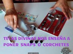 Tutorial para poner Snaps, Corchetes o Broches Automáticos...en Español. - YouTube