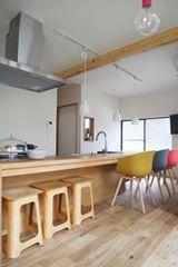 老家改建的房子,是年輕夫妻與兩個孩子的新窩居。把傳統日式宅邸改成可愛恬淡的家,加點色彩還有黑板漆的巧思,就能讓家變得活潑有趣,給予小朋友愉快的居家生活,清麗中帶著溫馨,是清美學的魅力之一呀。 via 空間社
