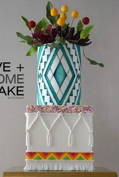 tasty mug cake Pretty Cakes, Cute Cakes, Beautiful Cakes, Amazing Cakes, Unique Cakes, Creative Cakes, Textured Wedding Cakes, Painted Cakes, Decorated Cakes