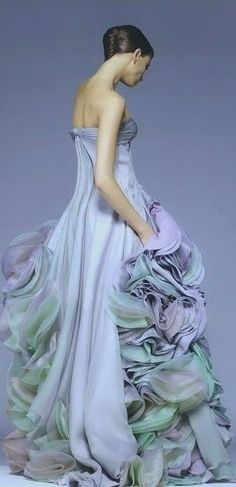 Atelier Versace Couture Ruffled