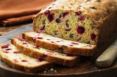 Warm up with these delicious cranberry bread recipes from Ocean Spray®. Enjoy great recipes for cranberry muffins, soda bread, scones and more. Cranberry Orange Bread, Cranberry Recipes, Holiday Recipes, Cranberry Fruit, Orange Zest, Muffins Blueberry, Zucchini Muffins, Mini Muffins, Nut Bread Recipe