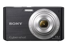 Sony Cyber-shot DSC-W610 14.1 MP Digital Camera with 4x Optical Zoom and 2.7-Inch LCD (Black) (2012 Model)