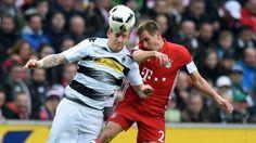 Bundesliga: Die schönsten Fotos vom Bundesligaspiel zwischen Borussia Mönchengladbach und dem FC Bayern.